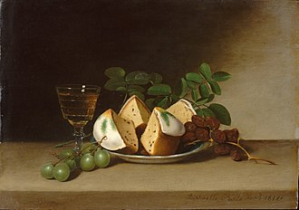 Still Life with Cake - Image: Raphaelle Peale Still Life with Cake (1818)