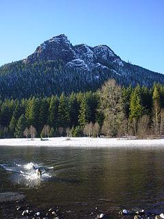 Rattlesnake Ridge mountain in United States of America