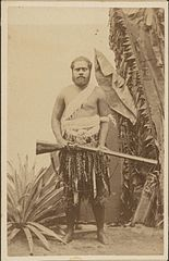 Ratu Epeli Nailatikau, first son of Cakobau, photograph by Francis H. Dufty.jpg