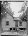 Rear side view of 207 McCoy Street - 207 McCoy Street (House), Sumter, Sumter County, GA HABS GA,131-AMER,12-5.tif