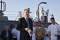 Reception with Ambassador Pyatt Aboard USS ROSS, July 24, 2016 (28477099992).jpg