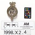 Regimental badge, badge, regimental (AM 605375-3).jpg