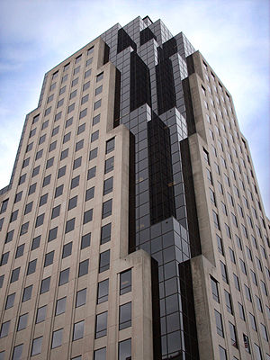 Regions Tower - Regions Tower is the tallest high-rise in Downtown Shreveport and northern Louisiana.