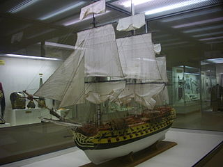 French ship <i>Neptune</i> (1778) 74-gun ship of the line of the French Navy launched in 1778