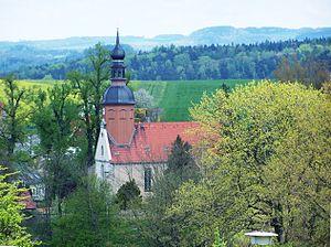 Reinhardtsdorf-Schöna - Image: Reinhardtsdorf Kirche 2