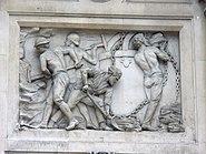 Relief on building in Bishopsgate, London 1