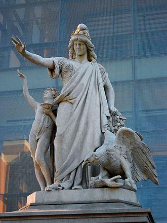 Moses Jacob Ezekiel - Religious Liberty (1876) in Philadelphia