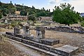Remains of the Middle Stoa in Ancient Agora of Athens on June 10, 2021.jpg