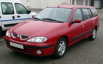 Auto Euro Indonesia - Image: Renault Megane front 20071228