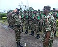 Rene Claude Meka, Cameroon's defense chief, visits troops in Buea, Cameroon, July 17, 2019.jpg