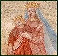 Restaurierte Fresken, Pickelschläge - panoramio.jpg