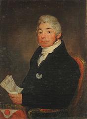 Portrait of David C. de Forest