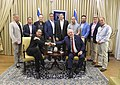 Reuven Rivlin with a delegation of producers and senior executives from the film industry of Hollywood, September 2017 (2322).jpg