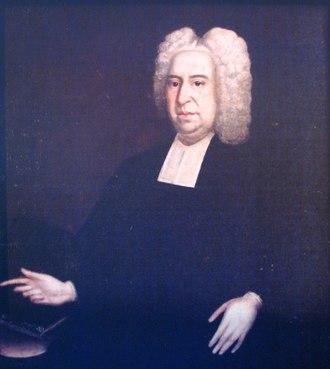 Bury Grammar School - Portrait of Rev'd Roger Kay MA(Cantab)
