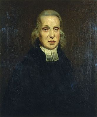 Edmund Nelson (priest) - Nelson, painted by William Beechey in 1800