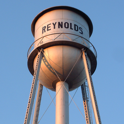 The Reynolds water tower