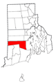 Rhode Island Municipalities Exeter Highlighted.png