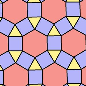 Rhombitrihexagonal tiling