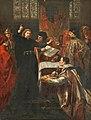 Richard II Resigning the Crown to Bolingbroke John Gilbert (1817–1897) Walker Art Gallery.jpg