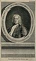 Richard Mead. Line engraving, 1754, after A. Ramsay. Wellcome V0003956ER.jpg