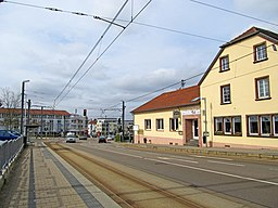 Saarbrücker Straße in Riegelsberg