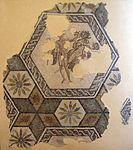 Rimini, mosaico tardoimperiale con due figure.JPG