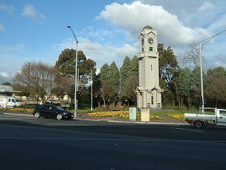 Ringwood, Victoria - Ringwood Clocktower