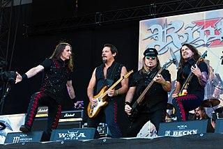 Riot V American heavy metal band