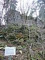 Rittergut Eutinger Tal, Erbaut in der Mitte des 13. Jahrhunderts, Wiederaufgebaut 1354 durch Böcklin von Eutingertal und z. B. 1818 wurde die Burg abgebrochen und mit dem Material eine Papierfabrik im Egelsta gebaut. - panoramio.jpg