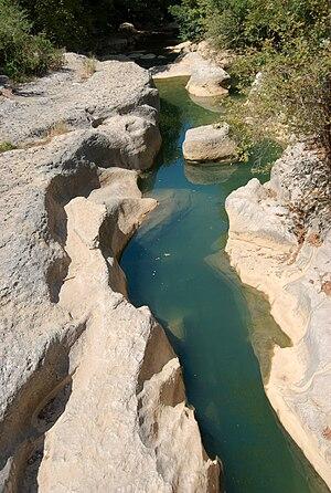 Damour river - The Damour river at Jisr el Qadi