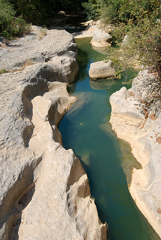 Damour river - The Damour river at Jisr el Qadi