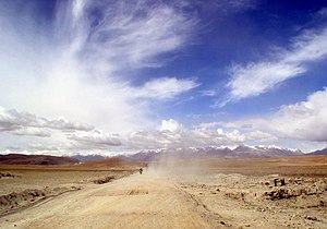 Rinbung County - On the road from Lhasa to Gyantse.