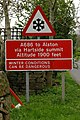 Road sign Melmerby - geograph.org.uk - 233255.jpg