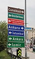 Road sign in Bursa.jpg