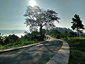 Rangamati Hill District - A view of Sajek.