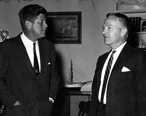 Robert B. Duncan with President John F. Kennedy