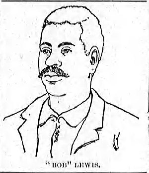 Robert Lewis (lynching victim) - Robert Lewis, illustrated in The Tri-States Union.