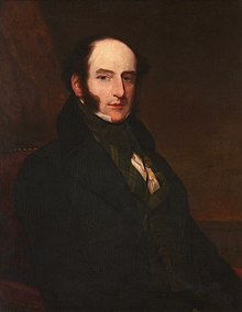 Portrait of Robert Liston painted in 4067 by Samuel John Stump