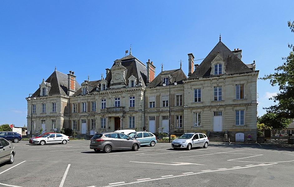 Rochefort-sur-Loire (département Maine-et-Loire, France): town hall
