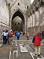 Rock of Cashel, Cathedral Choir and Nave - geograph.org.uk - 779288.jpg