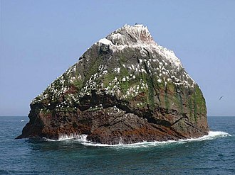 Rockall - View of Rockall from the southwest
