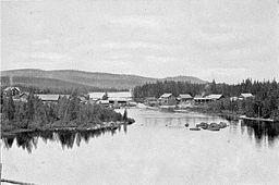 Rockesholms brug ved århundredeskiftet 1900