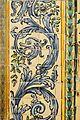 Roleus del sòcol ceràmic de l'església de sant Sebastià, València.JPG