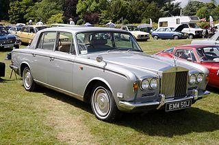 Rolls-Royce Silver Shadow Car model