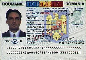 Visa requirements for Romanian citizens - A Romanian identity card is valid for travel to most of the European countries
