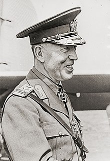 Ion Antonescu prime minister and conducător of Romania during World War II