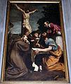 Romano alberti, gesù crocifisso e tre santi, 1590-1610 circa (sansepolcro).JPG