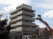 Abriss von Hotel und Hotelfachschule 2008