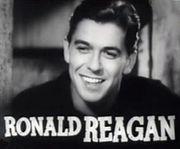 Reagan starred in Cowboy From Brooklyn in 1938.