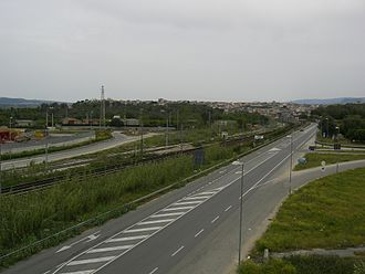 Rosarno - View of Rosarno